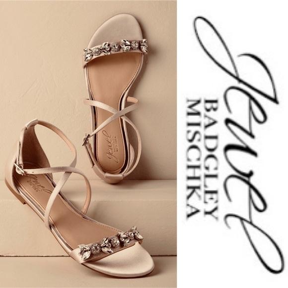 e01a6dbea JEWEL BADGLEY MISCHKA Tessy Embellished Sandal